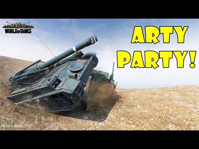 World of Tanks - Funny Moments | ARTY PARTY! 47
