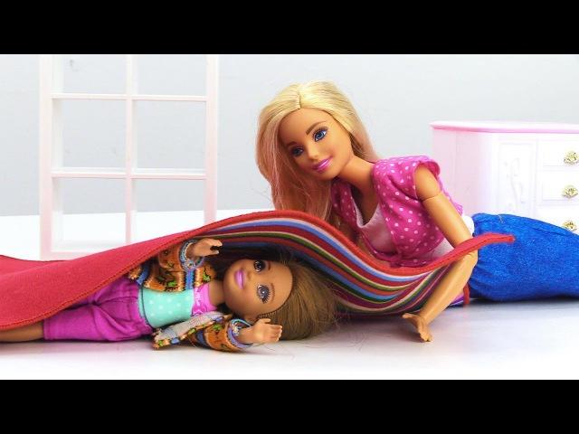 Барби и Челси играют в прятки. Мультики про Барби