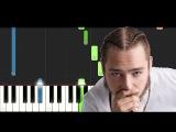 Post Malone - Rockstar (Piano Tutorial)