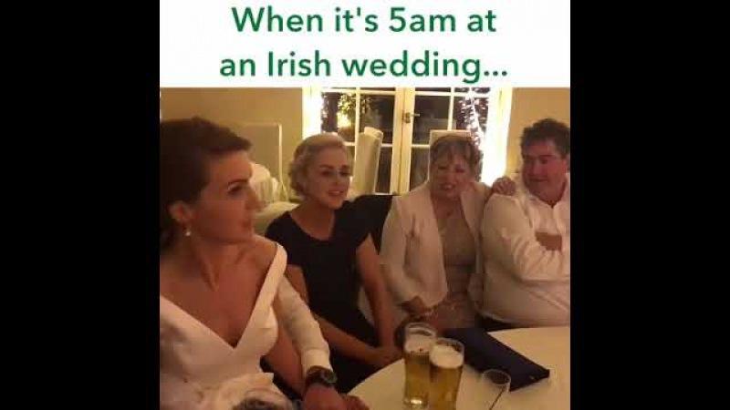 The Rattlin Bog (Fast Version ) song must listen sung at Irish wedding irish wedding 5am