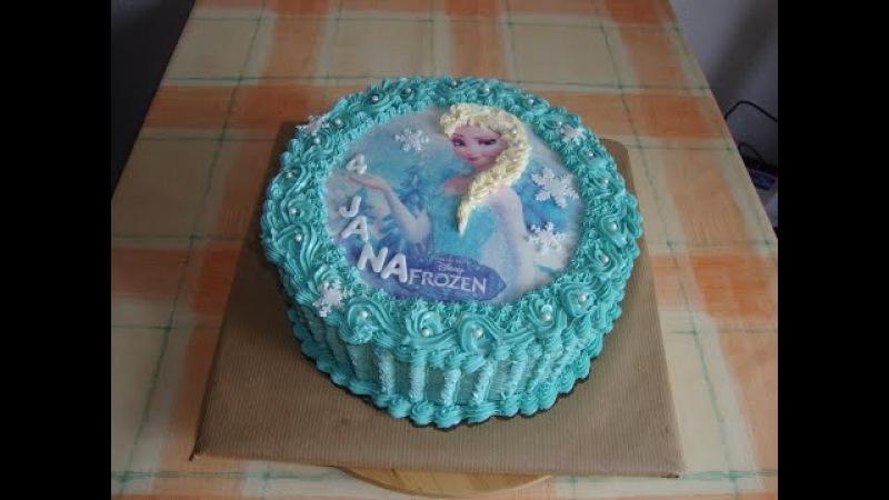 торт Эльза/Eiskönigin Torte.