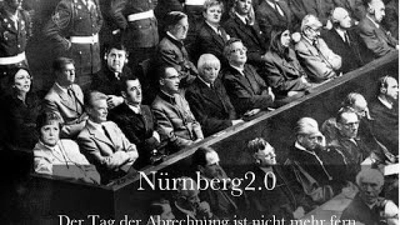 Vorbereitung Nürnberg 2 = BRD Verbrechen landen stets mit Strafantrag in Moskau