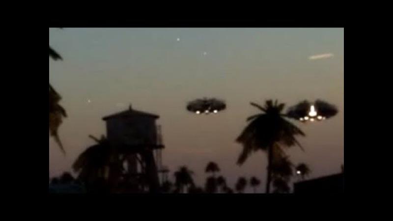 Реальное видео НЛО и пришельцев 2017