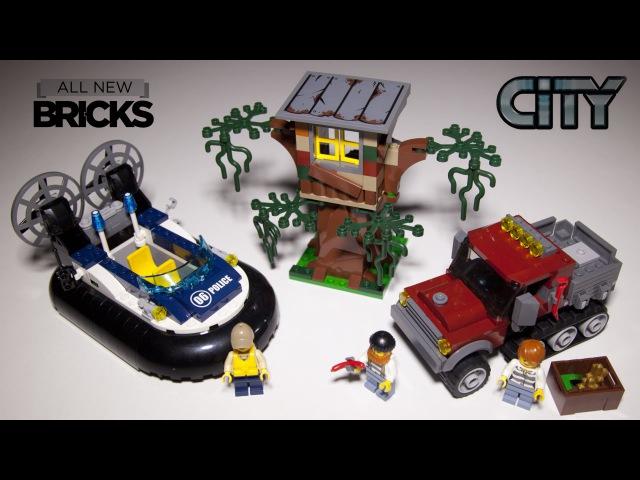 Lego City 60071 Hovercraft Arrest Speed Build Review