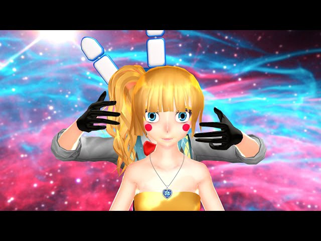 (MMD x FNAF) The Monster 3 (Toy Bonnie X Toy Chica)