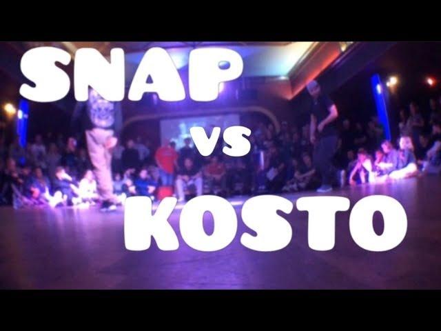 Top9Crew Kosto vs SNAP (Zulu Kingz) | LEGITS BLAST WINTER 2018