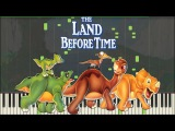 The Land Before Time - If We Hold on Together Piano Tutorial (Synthesia) Kyle Landry + MIDI