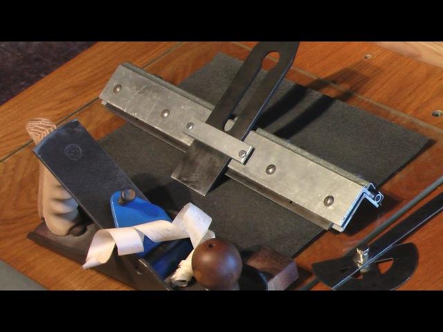 Тележка для заточки ножей рейсмуса, рубанка, стамесок