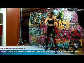 Bravo Models Media - Prague - photo shoots  backstages - fetish model SUANNE MARTY 04