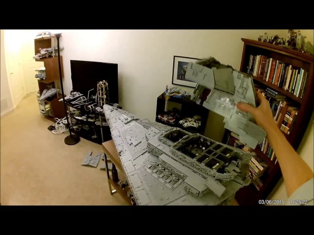 Field Stripping the ISD Tyrant (LEGO Star Destroyer MOC)