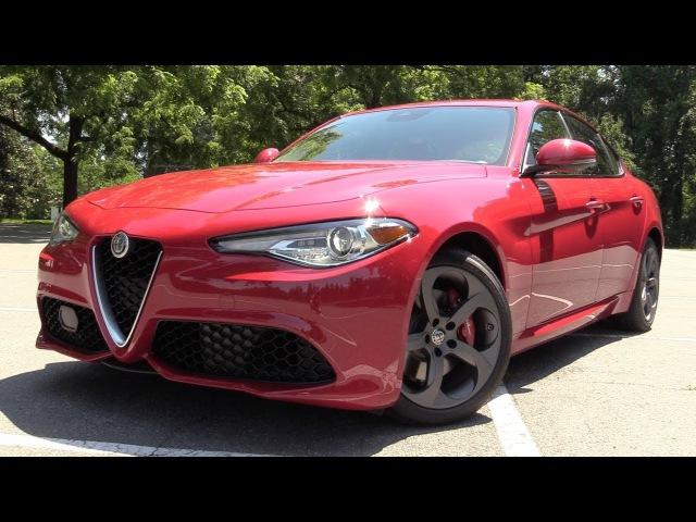 2017 Alfa Romeo Giulia Q4: Start Up, Road Test In Depth Review