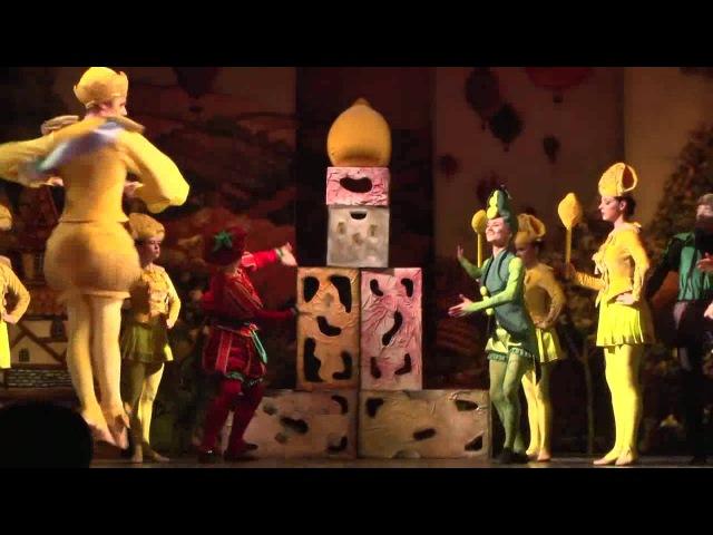 Балет Приключения Чиполлино Премьера в Магнитогорском театре оперы и балета