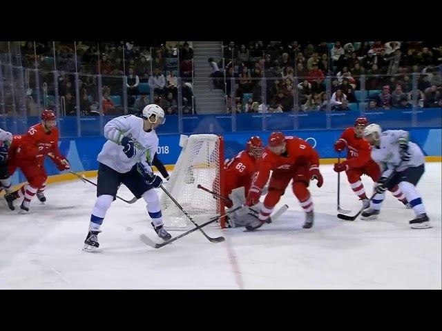 Россия - Словения 8-2 | Обзор матча | Хоккей | 2018 Зимние Олимпийские игры