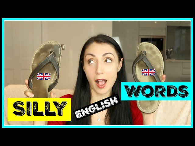 English Words That Sound Silly | Learn English FLIP FLOP WORDS