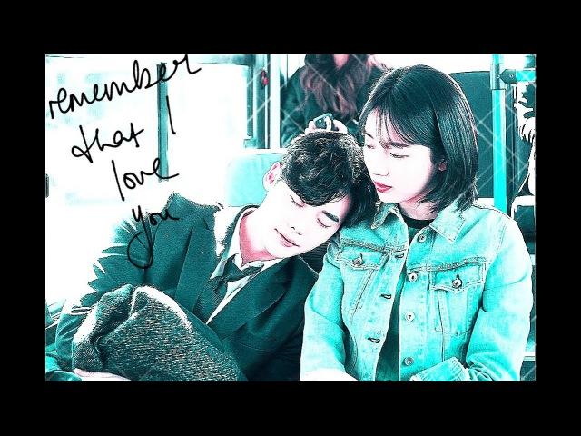 Клип к дораме Пока ты спала-Пока ты спишьWhile You Were Sleeping ~Jae Chan x Hong Joo~