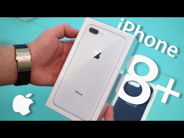 Обзор iPhone 8 Plus: примеры фото и распаковка нового айфона (review, unboxing)