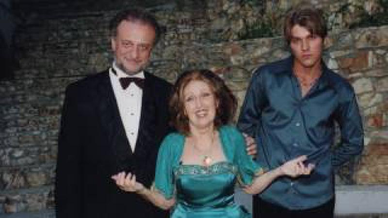 David Garrett Mme Ida Haendel perform with iPalpiti 2000 Adagio from Mozart Sinfonia Concertante
