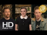 Tom Hiddleston, Maisie Williams, Eddie Redmayne interviews for Early Man