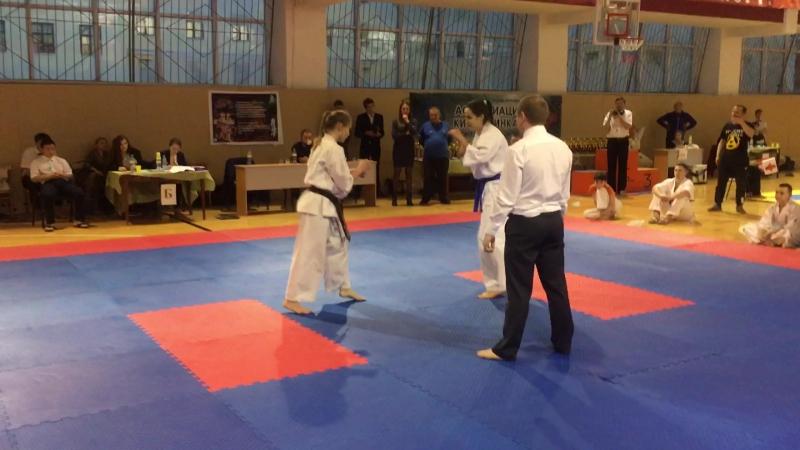 Чемпионат Свердловской области по Кёкусин-кан каратэ-до - 1-й бой