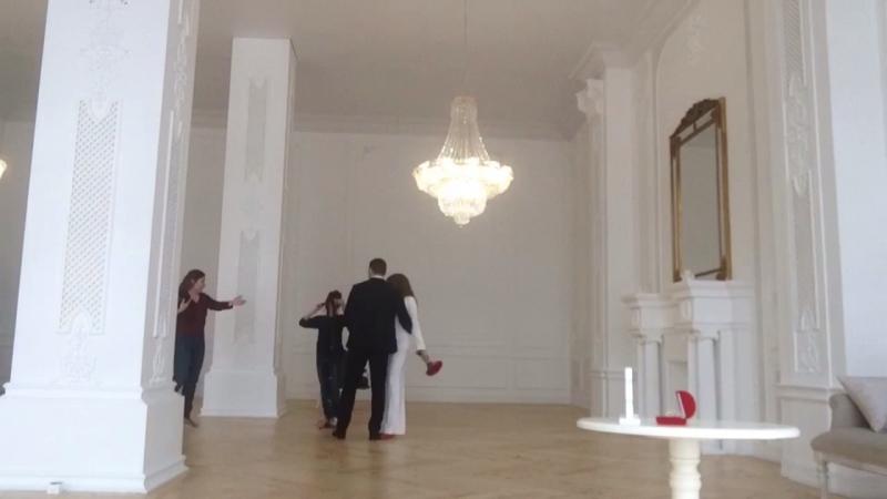 Бэкстрейдж свадебной студийной съемки