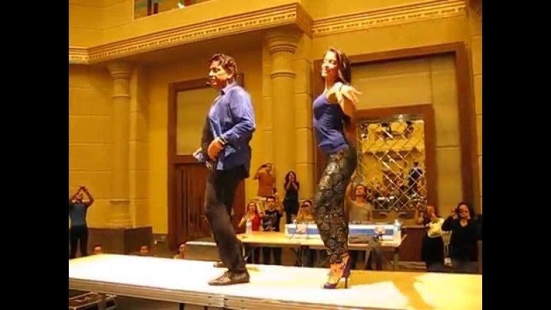 Eddie Torres Shani Talmor Footwork ON2 Istanbul dance Festival 2013