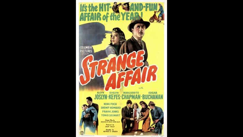 Strange Affair (1944) Allyn Joslyn, Evelyn Keyes, Marguerite Chapman
