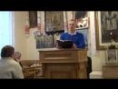 28.01.2018 №4 - Пророчество Иеремии, гл.7 (1926). Попов А.Н. Молитва Ефрема Сирина.