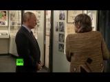 Путин посетил Дом Высоцкого на Таганке накануне 80-летия со дня рождения поэта