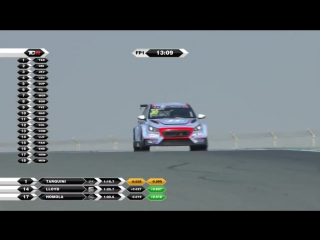TCR International Series 2017. Round 10. Dubai. Free Practice 1