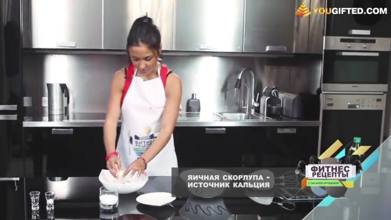 Фитнес-рецепты с Оксаной Артемовой. Протеиновые печенья