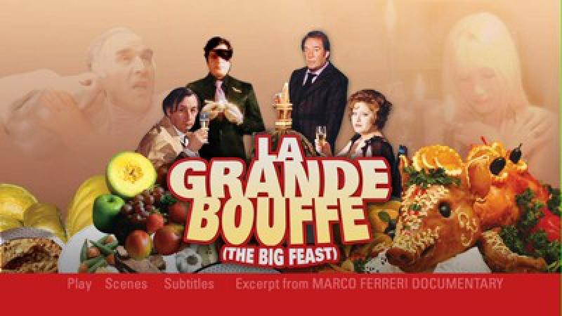 La Grande Bouffe Marco Ferreri-1973-Marcello Mastroianni Ugo Tognazzi Michel Piccoli Philippe Noiret, Andréa Ferréol
