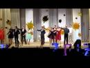 Вальс  ШКОЛЬНЫЕ  ГОДЫ -  выпускники 2017 года  Усогорской СОШ с УИОП