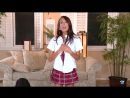 Janice Griffith (solo, masturbation, pussy play, schoolgirl outfit, девушка в костюме школьницы мастурбирует, ласкает себя)
