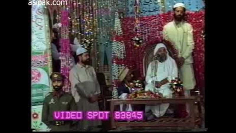 His Majesty Sayedina Riaz Ahmad Gohar Shahi(M.A) addressing in Jashan-e-Jillani 1992