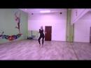 Kristina / solo latina/ bachata style/ импровизация