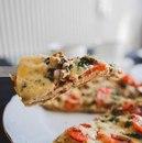 Правильная пицца на скорую руку!
