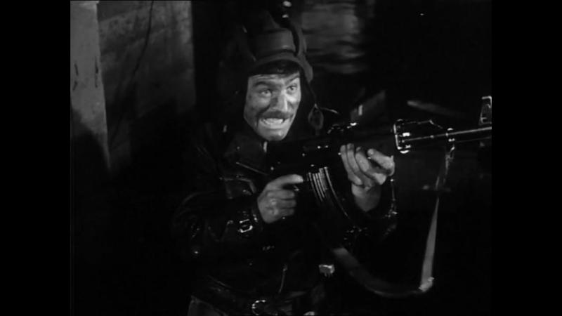 Четыре танкиста и собака (1968). 15 серия. Подрыв шлюза и бои в г. Рицен