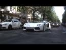 Lamborghini Aventador Roadster - HUGE Revs, Accelerations LOUD SOUNDS