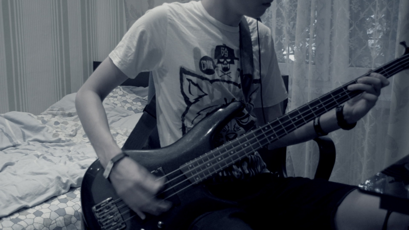 Stone sour-say you'll haunt me (bass cover)