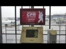 Airport CPR Kiosk Turns Layover into Life-Saver
