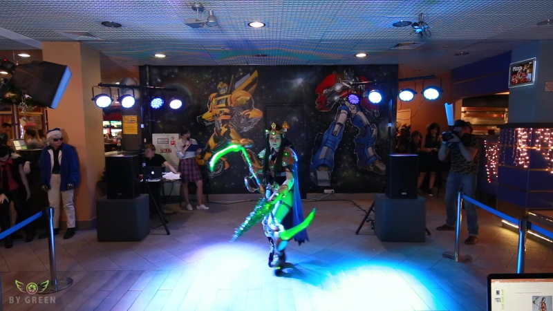 Starcraft 2 - Protoss (Мизеракль) / Cosplay Fest в аквапарке Карибия