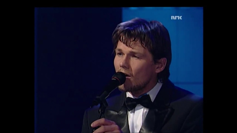 Morten Harket live under Spellemannprisen 1995