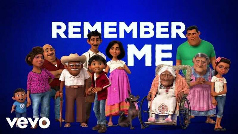 Miguel - Remember Me (Dúo) (From Coco/Official Lyric Video) ft. Natalia Lafourcade