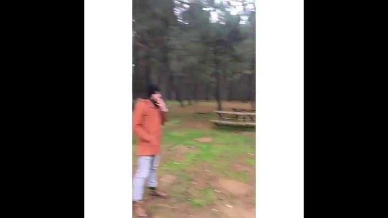 Съёмки сериала «Полнолуние»