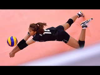 Best Womens Volleyball Actions - Volleyball Digs - Volleyball Saves - Rally 2017