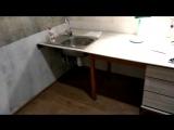 Упаковка ламината и СКАЗОЧНОЕ превращение старого стола в рабочую поверхность для кухни. ЧАСТЬ 2