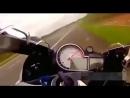 Сумасшедшие гонки на мотоцикле