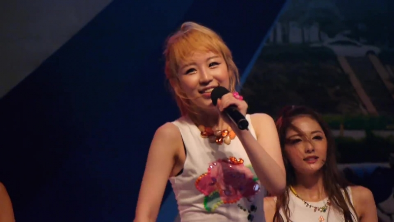 130807 [Fancam⁄직캠]일산 솔라보트대회 개막식 비비드걸(BBde Girl) - 할로(Halo)