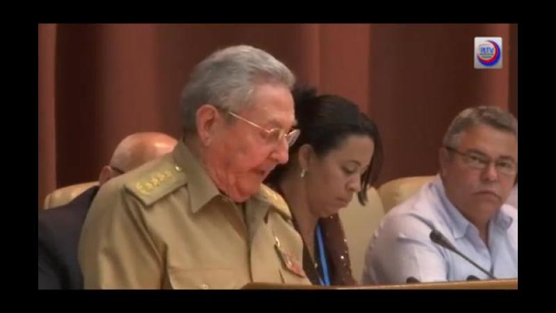 Nadie quedó desamparado Raúl Castro