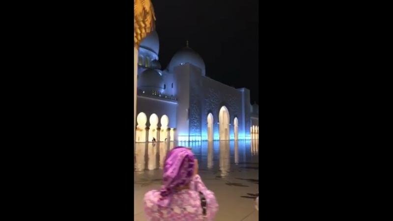 Мечеть шейха зайда в абу-даби ОАЕ